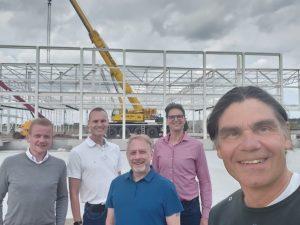 Het team van Veeloo Logistics