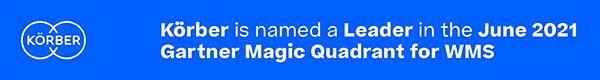 Koerber WMS erkend als Leader in Gartner Magic Quadrant